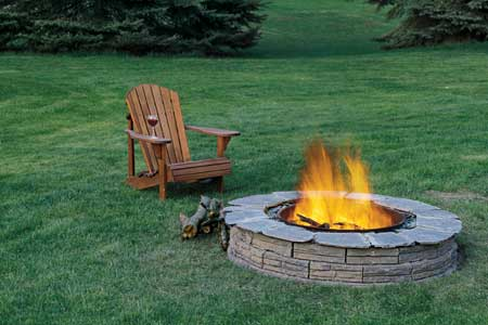 fire pit outdoor Living in Style