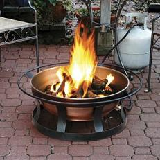 Elegant Propane Outdoor Fire Pit